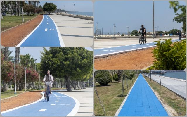 Mersin'de Bisiklet Yolu Projesi'nin Yüzde 80'i Tamamlandı