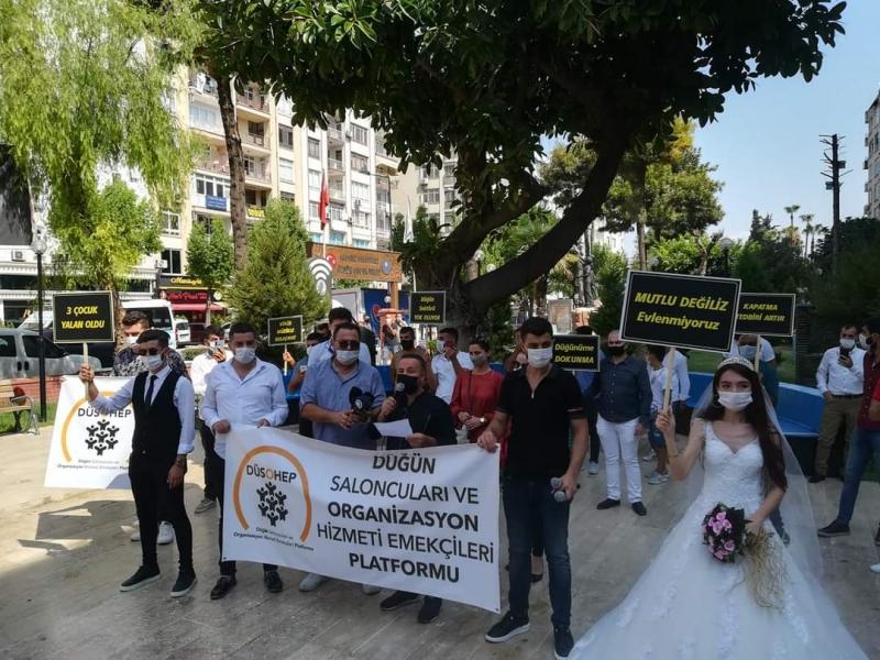 Mersin'de Düğün Organizatörlerinden Çağrı