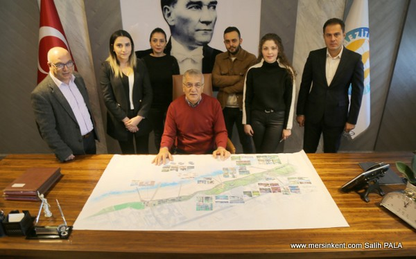 Mersin'de Gümüşkum İçin Proje Hazırlandı