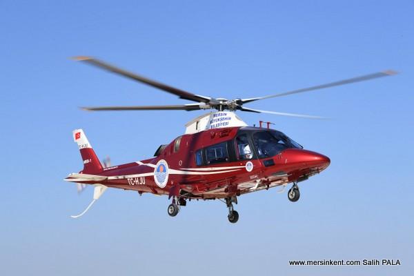 Mersin'de Hava Takşiye Büyük İlgi