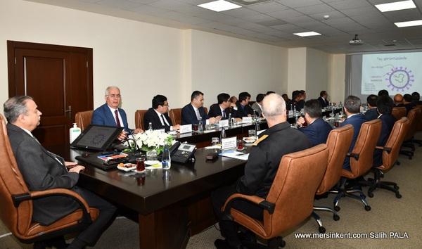 Mersin'de İl Güvenlik ve Asayiş Koordinasyon Toplantısı Yapıldı