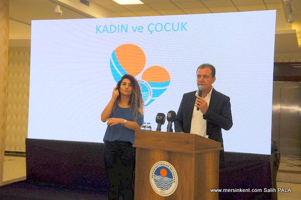 Mersin'de Kadın ve Çocuk Çalıştayı Yapıldı