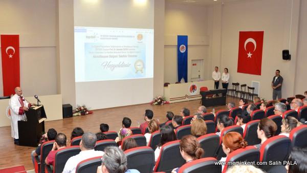 MERSİN'DE Tıp Fakültesi Mezuniyet Öncesi Tıp Eğitimi Akreditasyon Belgesi Takdimi Gerçekleştirildi