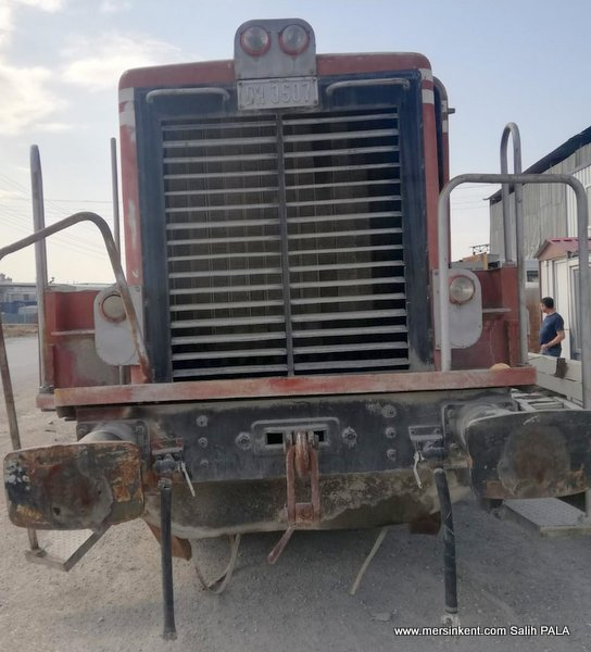 Mersin'de Kayıp Tren Bulundu