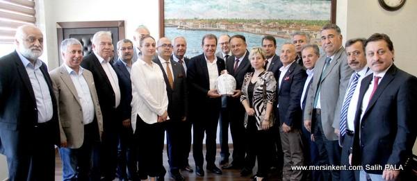MERYAD,Başkan Vahap Seçer'e Ziyarette Bulundu