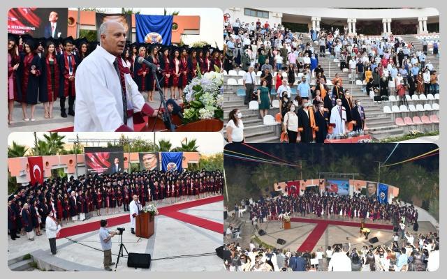 MeÜ Tıp Fakültesi Öğrencilerine Mezuniyet  Töreni Düzenlendi