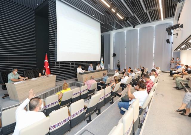 Mezitli Belediyesi 2021 Mali Bütçesi Oybirliğiyle Geçti