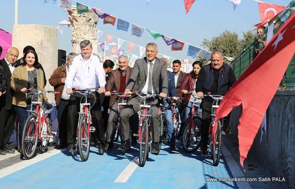 Mezitli'de Avrupa Hareketliliği Kutlamaları