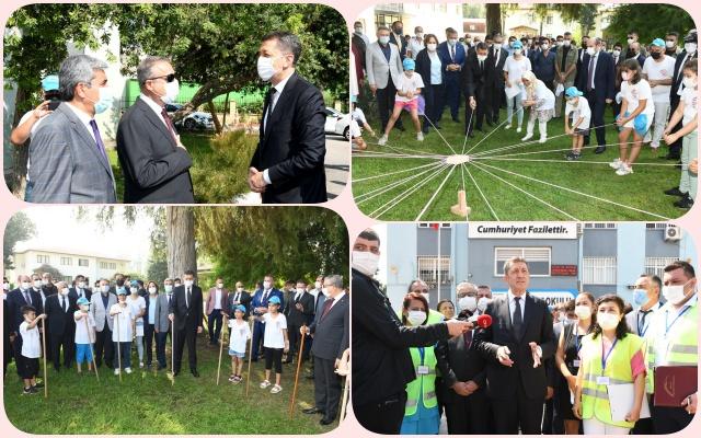 Milli Eğitim Bakanı Selçuk Mersin'de