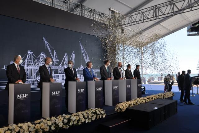 MIP Doğu Akdeniz Terminali 2. Faz Genişleme Projesi Törenle  Temeli Atıldı