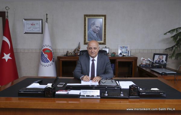 MTSO Başkanı Kızıltan,Mersin Uzun Zamandan Sonra Uyum ve Dostluk İçindedir