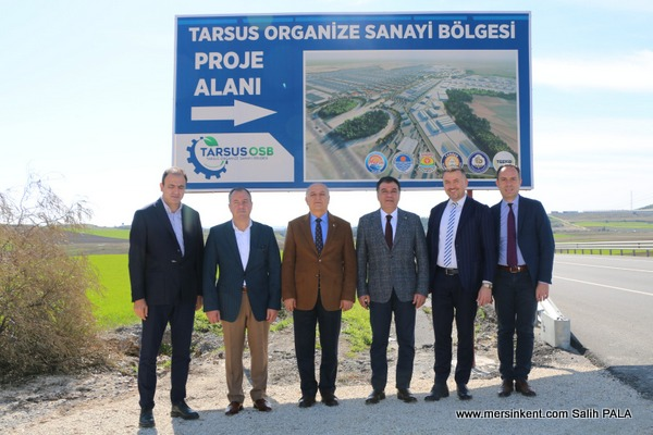 MTSO Heyetinden Tarsus TSO Ziyareti