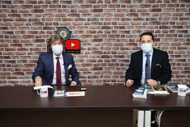 MTSO MECLİS BAŞKANI HAMİT İZOL TOROS ÜNİ TV'DE