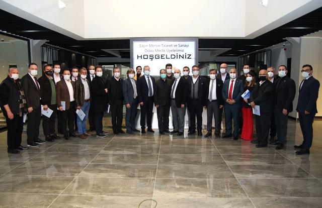 MTSO Meclis Üyelerine Model Fabrika Tanıtıldı