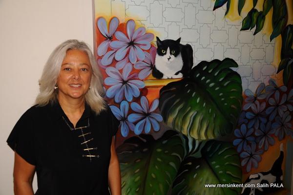 MTSO Sanat Galerisi, Ressam Gaye Yeşilsoy İle Sezona Merhaba Dedi