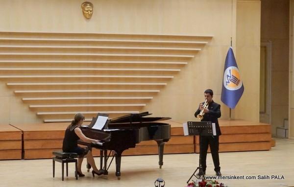 Nevit Kodallı Salonu'nda Trompet Resitali