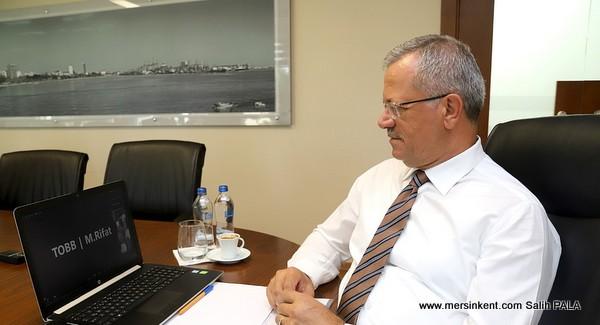 MTOSB Başkanı Sabri Tekli ve  OSB Başkanları, Hisarcıklıoğlu İle Buluştu