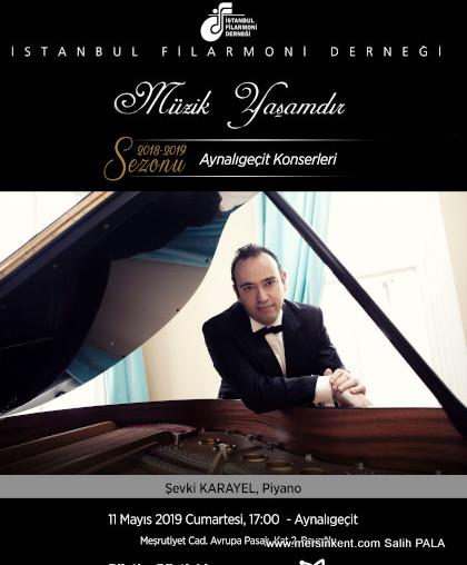 Piyano Virtüözü Şevki Karayel'den Solo Konser