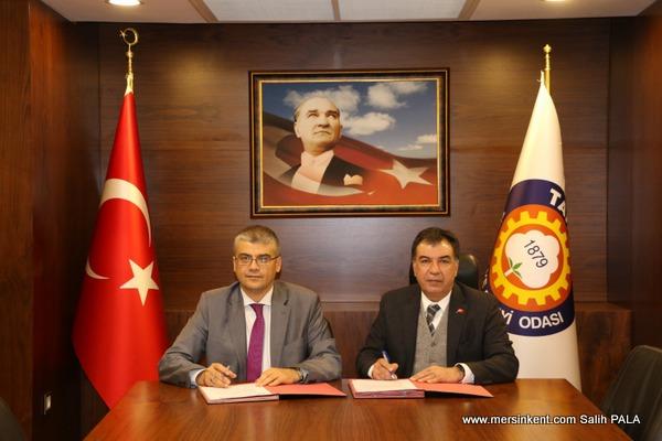 Tarsus Üniversitesi ve Tarsus TSO Arasında İşbirliği  Protokolü