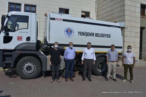 TBB,Yenişehir Belediyes'ine Temizlik Aracı Hibesi Etti