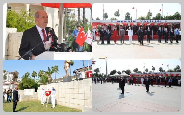 TEMAD Mersin Barış Harekatı'nın 47. Yılı Kutlamalarına Katıldı