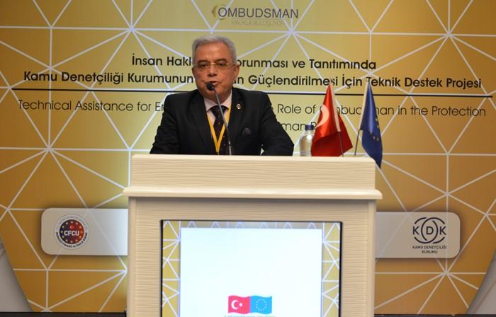 TEMAD Mersin Kamu Başdenetçisi Malkoç'a Taleplerini İletti
