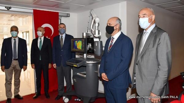 TİSK, Mersin Üniversitesi Hastanesine 800 Bin TL Değerinde Cihaz Bağışladı