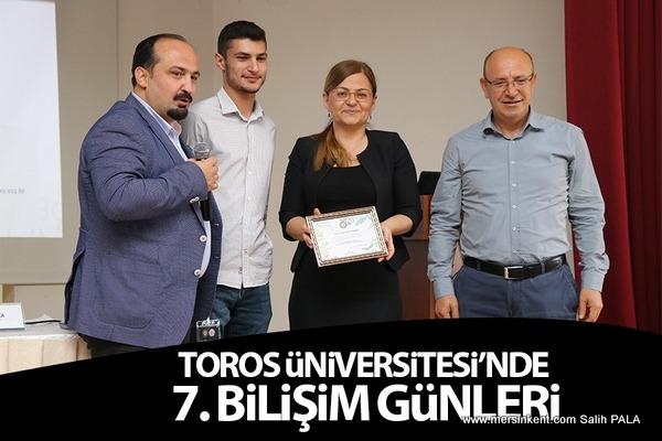 TOROS ÜNİVERSİTESİ'NDE 7. BİLİŞİM GÜNLERİ