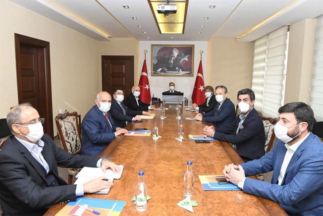 Vali Su Başkanlığında Turizm Yatırım Komisyonu Toplandı