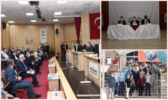 Vali Su Başkanlığında Merkez İlçe Muhtarlarıyla Buluşma Toplantıları Yapıldı