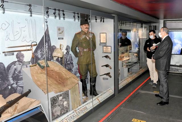 Vali Su, Çanakkale Savaşları Mobil Müzesi'ni Gezdi