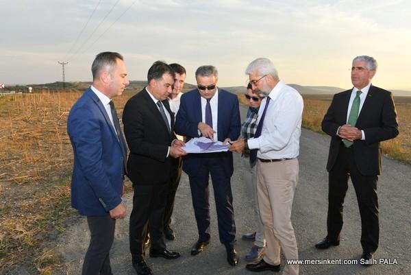 Vali  Su, Tarsus Organize Sanayi Bölgesi'nde İncelemelerde Bulundu
