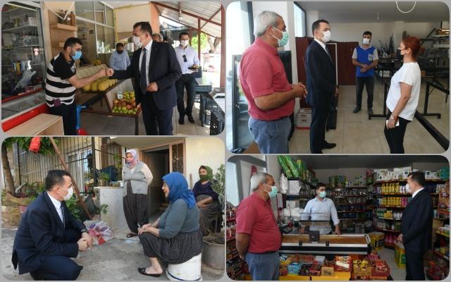 Yenişehir Belediye Başkanı Özyiğit'in Esnaf Ziyaretleri