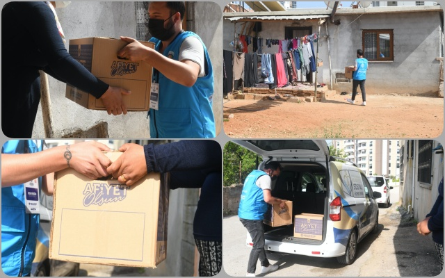 Yenişehir Belediyesi'nden İhtiyaç Sahiplerine Gıda Desteği