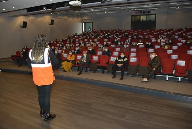 Yenişehir Belediyesi Personeline AFET Eğitimi