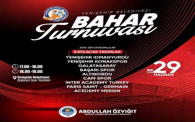 Yenişehir Belediyesi Bahar Turnuvası Başlıyor
