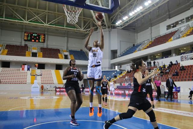 Yenişehir Kadın Basketbolcuları Evinde Kaybetti