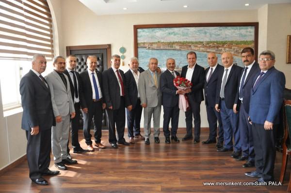 Başkan Dinçer'den Kent Protokolüne Ahilik Haftası Ziyaretleri