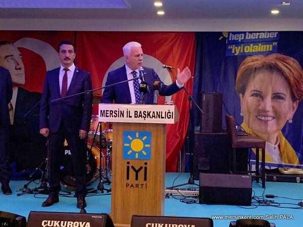 İYİ Parti Teşkilat Başkanı Aydın'a Mersin'de Büyük Sevgi