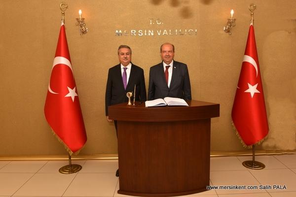 KKTC Başbakanı Tatar, Mersin'i Ziyaret Etti