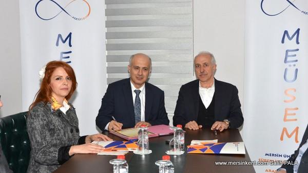 Mersin Üniversitesi İle Akdeniz Belediyesi Protokol İmzaladı