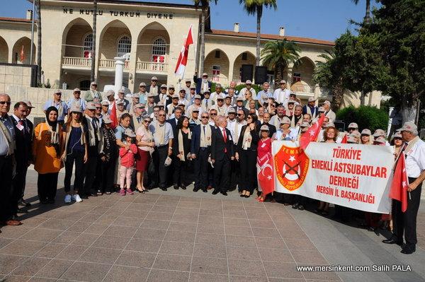 Mersin'de TEMAD'ın Kuruluşu ve Astsubaylar Günü Kutlandı