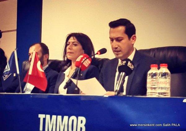TMMOB Makina Mühendisleri Odası Mersin Şube Başkanı İbrahim YÜCESOY Görevine Başladı