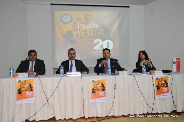 Toros Üniversitesi'de Medya ve Medyanın Geleceği Paneli Düzenlendi